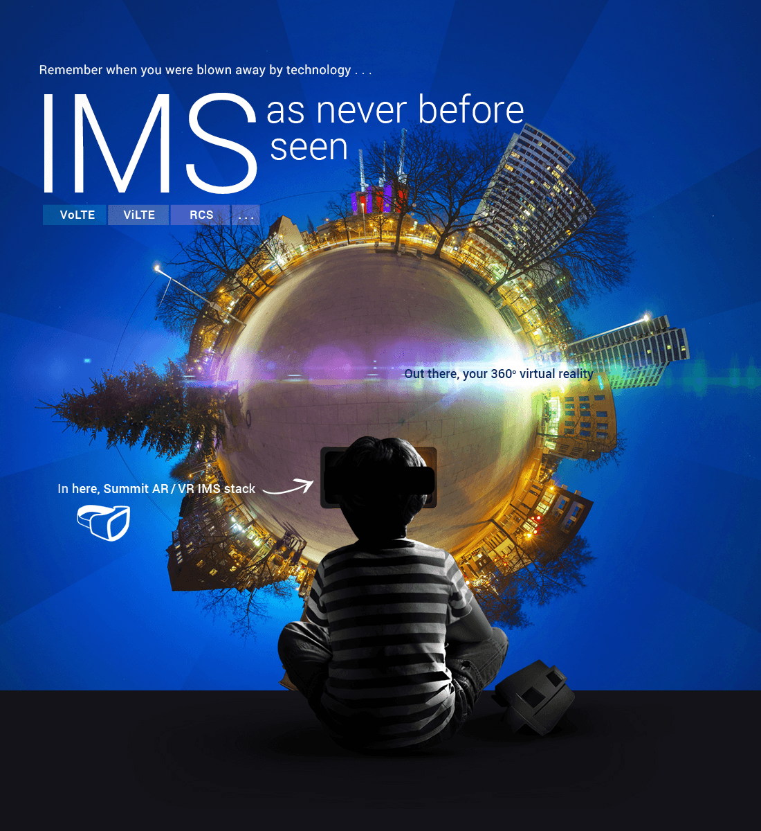Remember when you were blown away by technology... IMS as never before seen